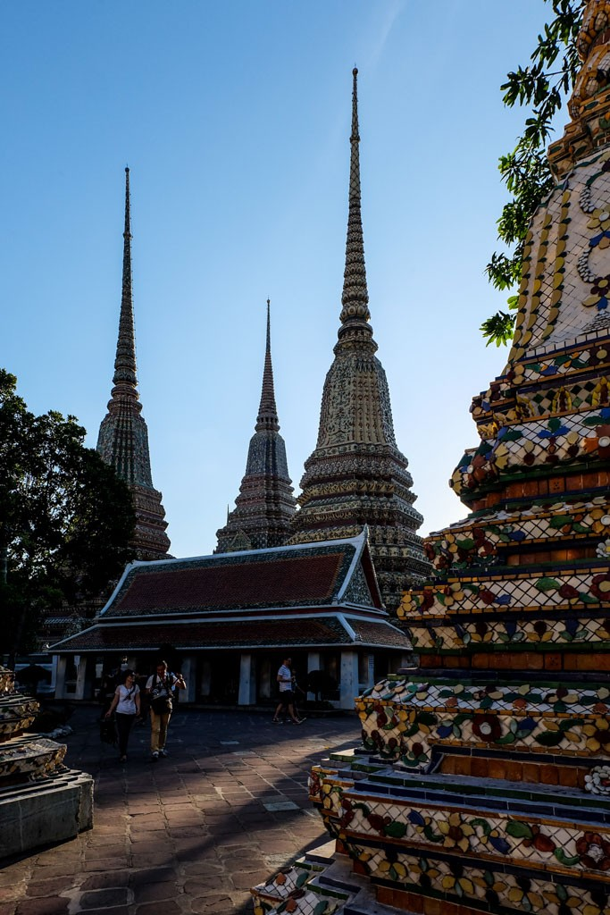 Wat Phra Kaew - temple of the reclining Buddha, Bangkok